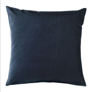 "IKEA Sanela Cushion Cover Dark Blue 20x20"""